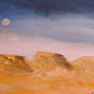 Hod Akev Israel-Gemälde auf Leinwand 120×100 cm