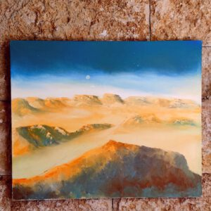 Hod Akev Israel-Gemälde auf Leinwand