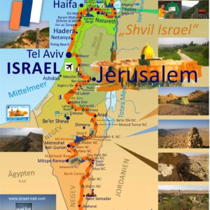 10x Israel National Trail Poster DIN A2