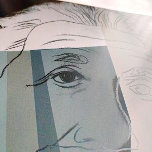Andy Warhol – Golda Meir – Kunstdruck-Poster ca. 41×53 cm (Gebrauchsspuren) (Kopie)
