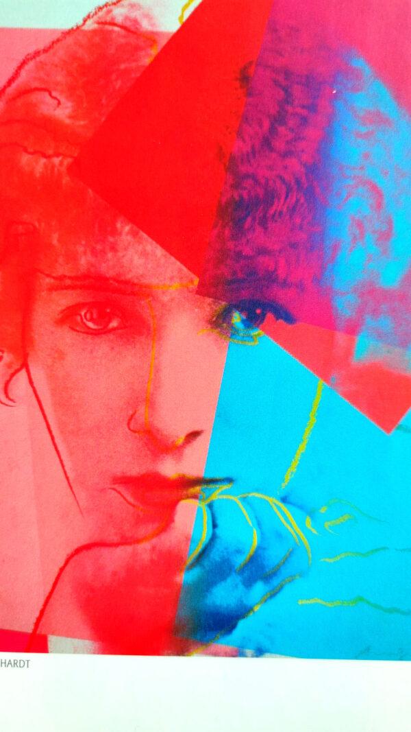 Kunstdruck Andy Warhol: Albert Einstein, Martin Buber, Sarah Bernhardt, Louis Brandeis, Golda Meir, George Gershwin, Franz Kafka, Sigmund Freud, Gertrude Stein, The Max Brothers