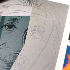 Andy Warhol – 6er Set verschiedene Kunstdruck-Poster (Gebrauchsspuren)
