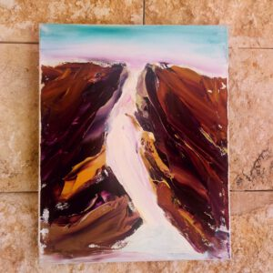 Gishron Cliffs Israel-Gemälde auf Leinwand/ Israel Painting on Canvas Kunstkatalog-Nr: 2282
