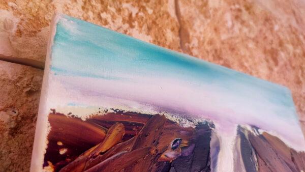 Gishron Cliffs Israel-Gemälde auf Leinwand/ Israel Painting on Canvas Kunstkatalog-Nr: 2282