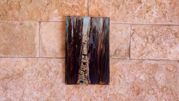 Barak Canyon Israel-Gemälde auf Leinwand