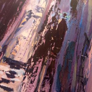 Barak Canyon Israel-Gemälde auf Leinwand 40x60cm