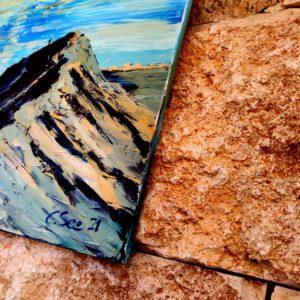 Ölgemälde Israel/ Eilat auf Leinwand 116×90 cm