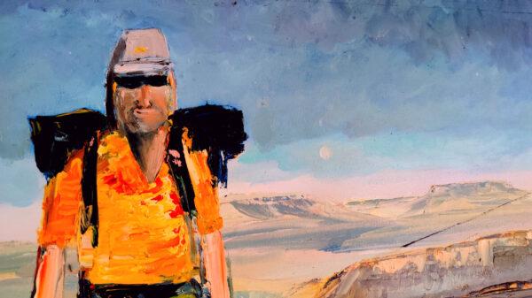Wandern in der Wüste Negev Israel