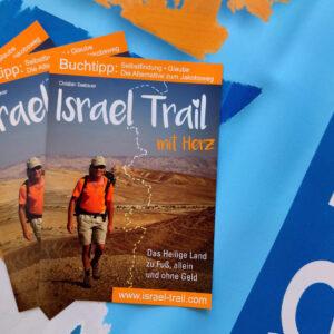 Prospekt Israel Trail mit Herz, Infos