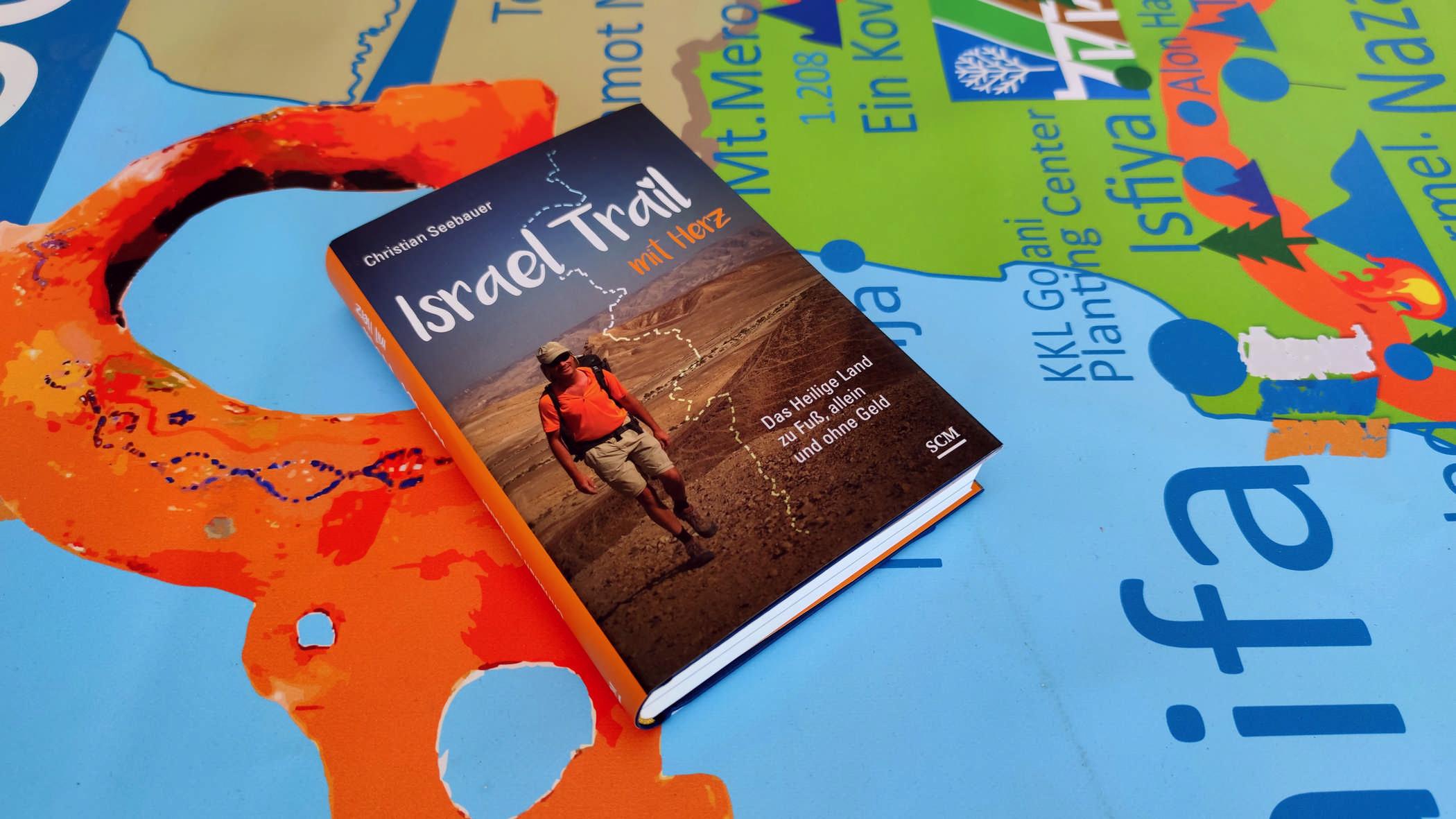 Israel Trail mit Herz, Israelbuch