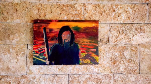 Jesus, Pilger, Wanderweg, Hiking, Israel National Trail