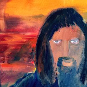 Jesus Ölgemälde 100 x 70 cm