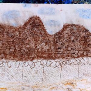 Gemälde von Kindern im Kibbuz Neot Semadar für den guten Zweck