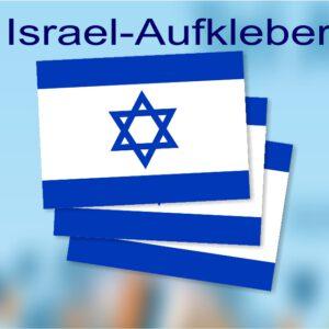 Israel Flagge Aufkleber