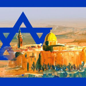 100x Wetterfeste Aufkleber Israel Negev Jerusalem 7,40 x 10,50 cm