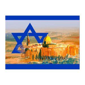 Israel Jerusalem Aufkleber