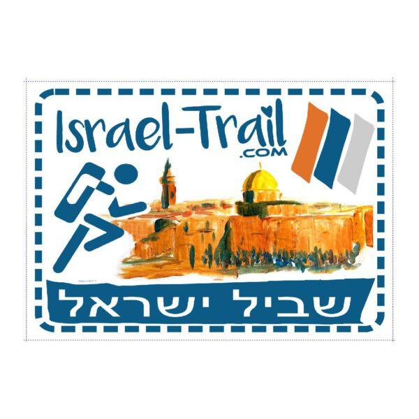 Israel Trail Running Aufkleber