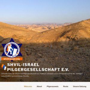 3x Aufkleber Shvil-Israel Pilgergesellschaft e.V. – 100% für einen guten Zweck –