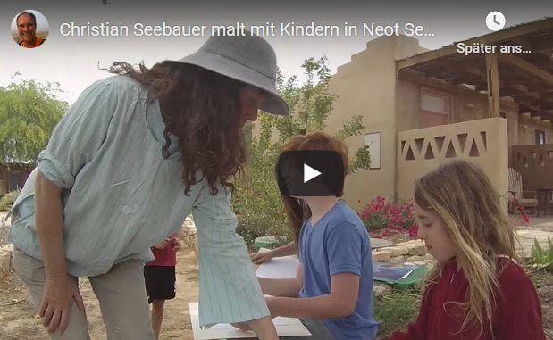 Foto Israel National Trail, Beitrag Malen mit Kindern in Neot Semadar